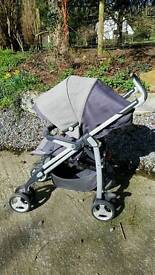 Silver Cross 3D Pram in Grey
