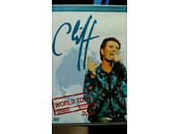 Cliff dvd ×2 50th anniversary tour +world tour 2003