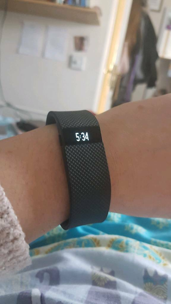 Fitbit Charge HR and Chargerin Welwyn Garden City, HertfordshireGumtree - Black Fitbit Charge HR for sale, including charging lead. Selling as I dont use often, perfect working condition. £40, collection from Howlands, Welwyn Garden City