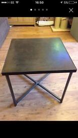 Side tables metal legs