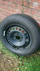 Brand New GOODYEAR EXCELLENCE 215/60 x16 Tyre on a 4 stud Vaughan rim
