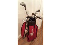 Malibu Golf Bag and Clubs