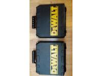 18V Dewalt Battery Drills
