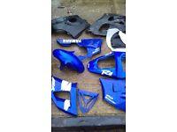 Yamaha r1 motobike plastics see pictures