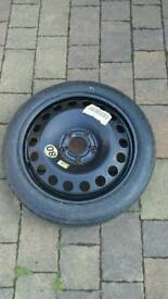 Temporary vauxhall vectra wheel and tyre firestone new