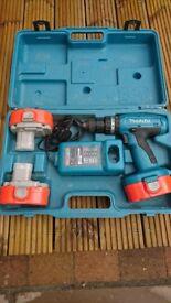 Makita 8390DWPE3 18V Battery Drill (3 x 1.3Ah Ni-Cd Batteries)