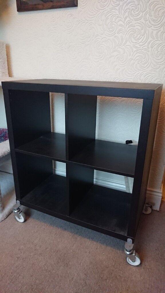 the latest e04bf 7f72c Ikea Kallax record storage on castors | in North Shields, Tyne and Wear |  Gumtree
