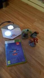 Xbox 360 disney infinity game with characters
