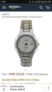 Cardinal Men's Watch