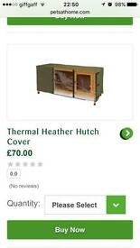 Rabbit Hutch & Thermal Cover