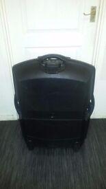 Atlantic USA black hard suitcase