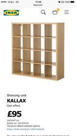 Ikea storage bookshelf/ shelving excellent storage