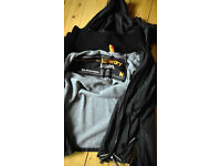 Men's Superdry hooded Windcheater, fleece lined, size Medium