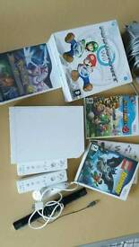 Nintendo Wii lot pokemon, Mario