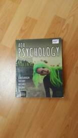 AQA Alevel Psychology Textbook, Year 1 AS