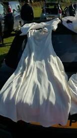 Vintage Wedding Dress/with Jacket