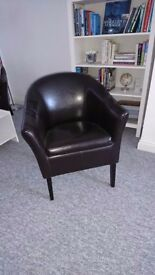 Tub chairs - Pair