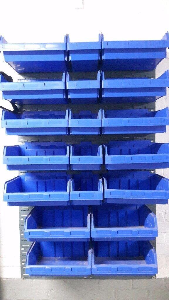 Dexion Workshop/Garage Storage Bins