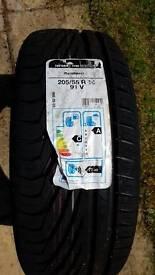 Tyre uniroyal 205/55 R16 91v