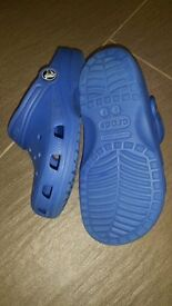 Crocs in super clean condition. Barely worn. Size 12 -13