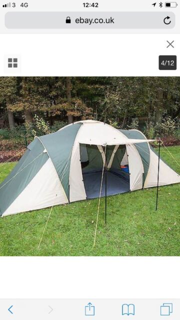 huge selection of 2e39f b7b1b 6 man dome tent with sleeping bags and air beds, only used once | in  Hitchin, Hertfordshire | Gumtree