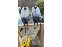 yamaha/mariner 2hp outboards x 2