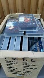 Star trek deep space nine videos approx 50 in a box