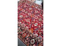 Antique Persian carpet x 2