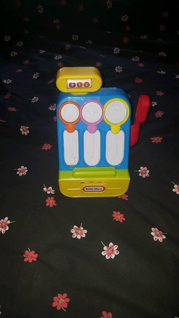 Cash register toy.