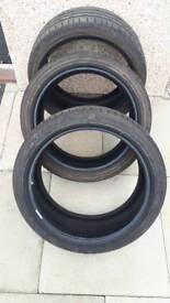 3 x Bridgestone Potenza 225/40 R18 92Y