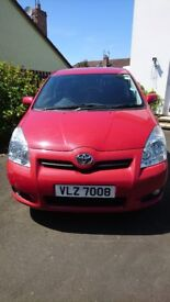 2008 Toyota Corolla Verso 1.8 SR 7 seater for sale. Genuine miles only 2 owners from new.