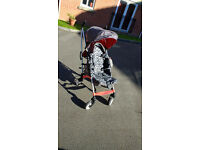 A very clean stroller from Mothercare for sale