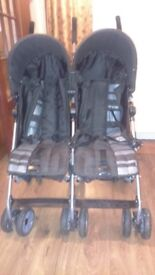 Mamas and Papas Swirl double buggy excellent condition. Can post for additional charge