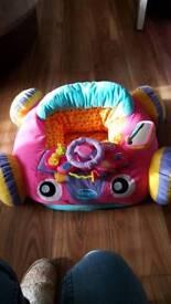 Girls soft car