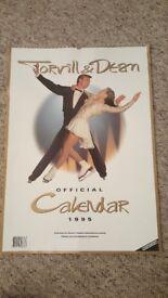 Torvill and Dean- Farewell Tour - 1995 Souvenir Calendar