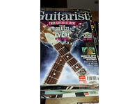 Guitarist magazines x 25 with discs in good condition £6 or make an offer!
