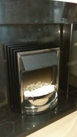 Dimplex ZAM20 Electric Fire and Surround Excellent condition