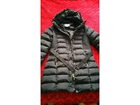 Women's Padded Coat Black Size 14 Brand New