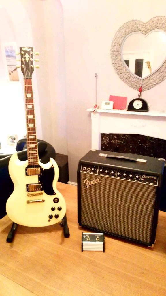 Sg and fender amp | in Nelson, Merthyr Tydfil | Gumtree