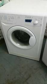 INDESIT WHITE DIGITAL DISPLAY WASHING MACHINE