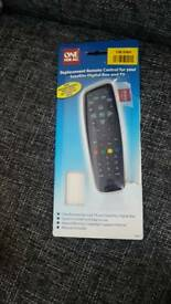 Brand new sky replacement remote