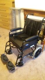 Invacare Foldable Wheelchair with Orthopedic cushion