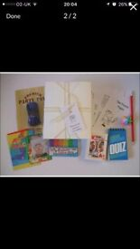 7 boys / girls activity boxes for children