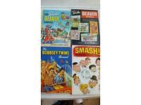 4 x 1960s Hardback comic books