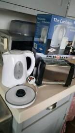 Caravan low wattage Kettle & Toaster