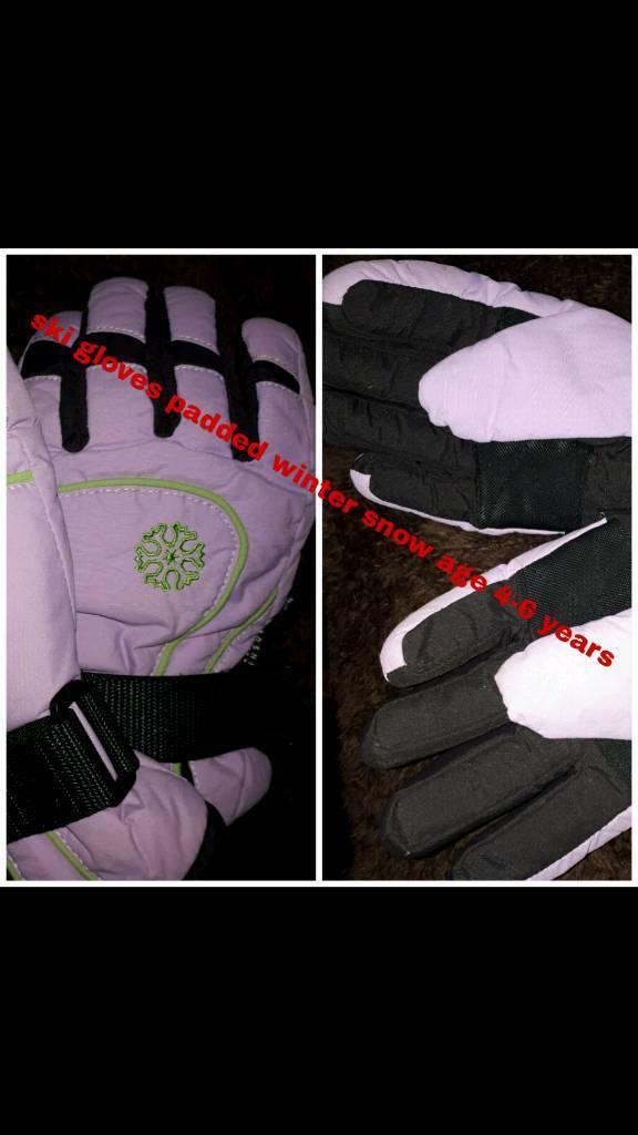 Brand new ski gloves 4-6 years