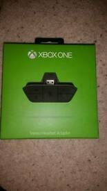 Xbox one head set adaptor