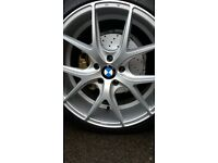 """Bmw 20"""" alloys and fitting kit"""