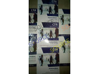 CFA 2017 Kaplan Schweser Level 1,2,3 Package with *QUESTION BANK*