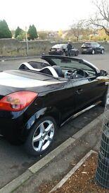 2005 Vauxhall Tigra 1.8 Sport Convertible Black